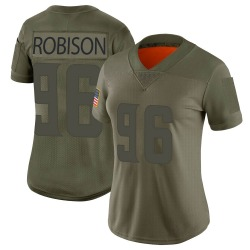 Nike Brian Robison Minnesota Vikings Limited Camo 2019 Salute to Service Jersey - Women's