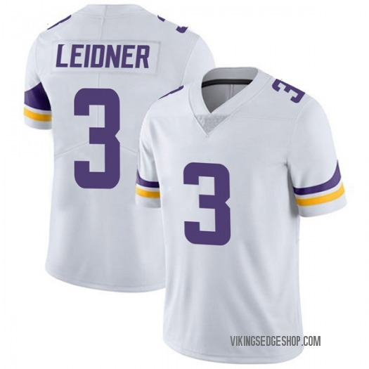 Nike Mitch Leidner Minnesota Vikings Limited White Vapor Untouchable Jersey - Men's