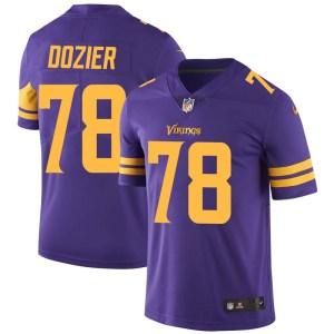 Nike Dakota Dozier Minnesota Vikings Limited Purple Color Rush Jersey - Men's
