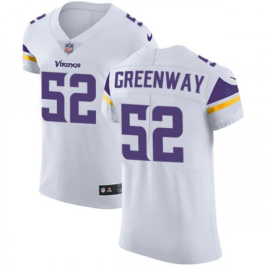 Nike Chad Greenway Minnesota Vikings Elite White Vapor Untouchable Jersey - Men's