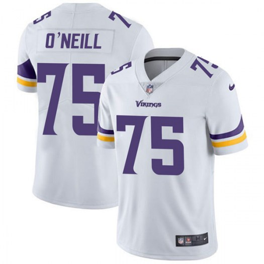 Nike Brian O'Neill Minnesota Vikings Limited White Vapor Untouchable Jersey - Youth