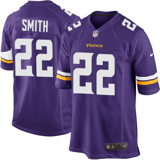 Nike Harrison Smith Minnesota Vikings Game Purple Team Color Jersey - Youth